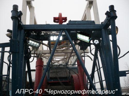 """...производства ПО  """"Электроточприбор """" с апреля 2009 года успешно эксплуатируются на буровых установках АПРС-40 на..."""