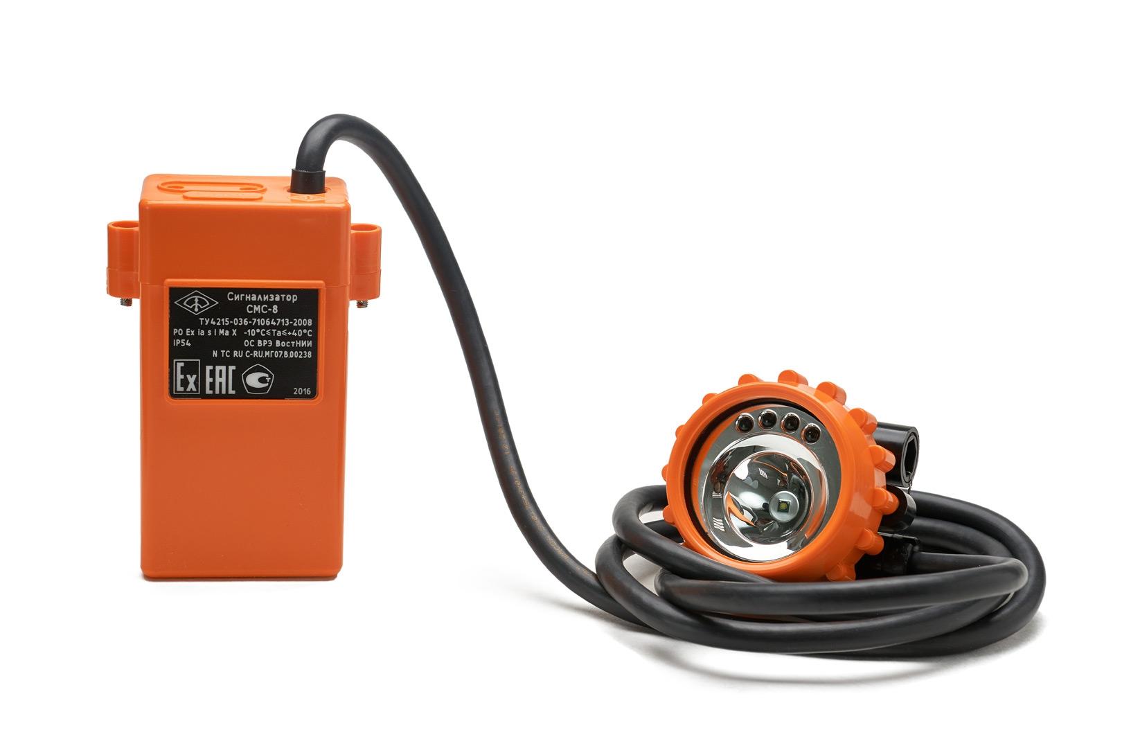 Сигнализаторы метана СМС-8 с миниатюрной аккумуляторной батареей